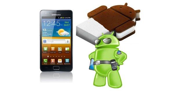 Samsung Galaxy S2 und Note: Erste Android 4.0-Updates kommen Ende März