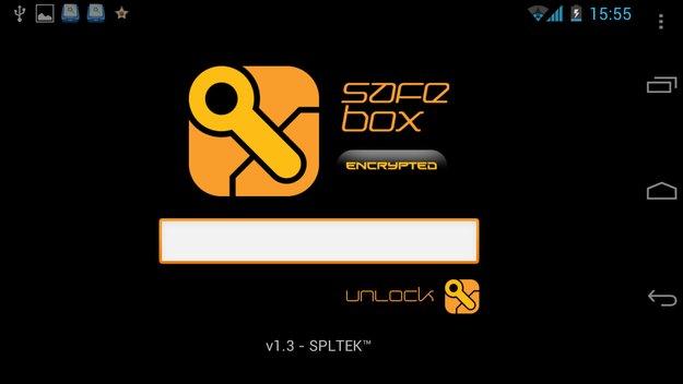 SafeBox encrypted - Praktisches Tool zum Verschlüsseln eurer Passwörter