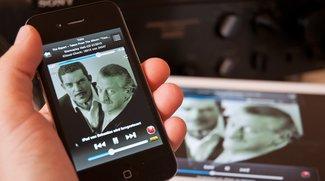 iPhone- und iPod-Musik über Remote-App fernsteuern