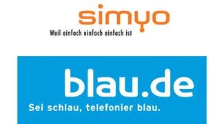 Lukrative Smartphone Tarife von blau.de & simyo