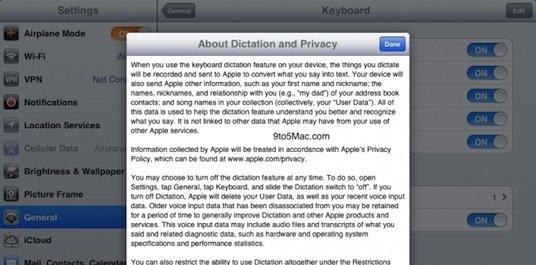iOS 5.1 Beta 3: Hinweis auf Siri Dictation für weitere iOS-Geräte