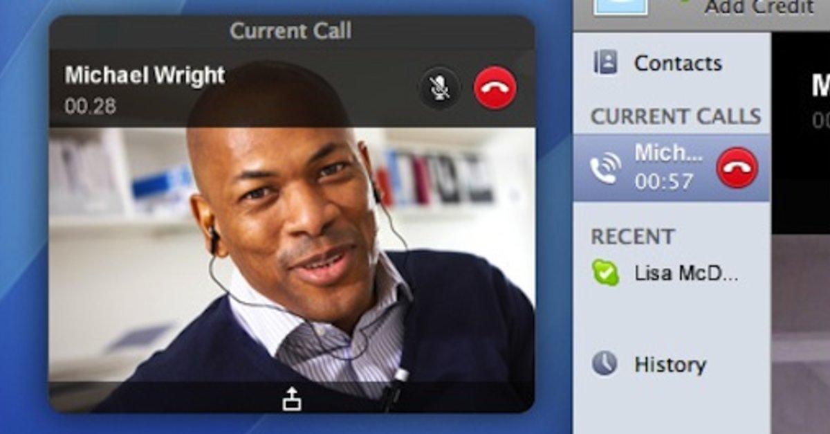 wie man Kamera auf Skype auf Mac einschaltet