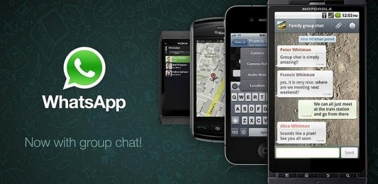 Whatsapp erhält Update auf Version 2.7.2334
