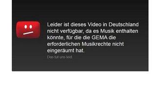 Landgericht München: GEMA-Sperrtafeln von YouTube sind rechtswidrig