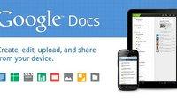 Google Docs App: Bringt das neue Update endlich die gewünschte Tablet-Optimierung?