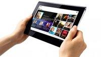 Sony Tablet S: Android 4.0-Update endlich auch in Deutschland angekommen