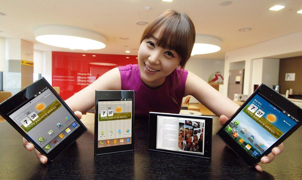LG stellt das Optimus Vu offiziell vor