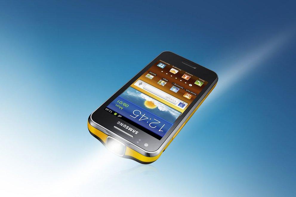 MWC 2012: Samsung stellt das Galaxy Beam offiziell vor