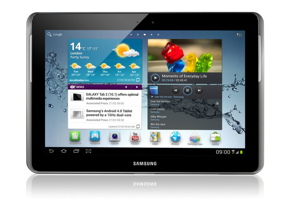 MWC 2012: Samsung stellt das Galaxy Tab 2 (10.1) offiziell vor