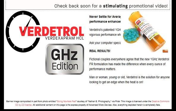 AMD Radeon Werbegag: Doping als Vorgeschmack