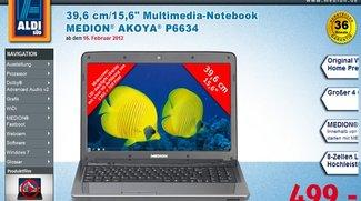 Medion Akoya 6634 ab morgen für 499€ bei Aldi-Süd