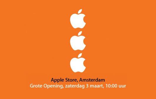 Erster Apple Store in den Niederlanden öffnet am 3. März seine Türen