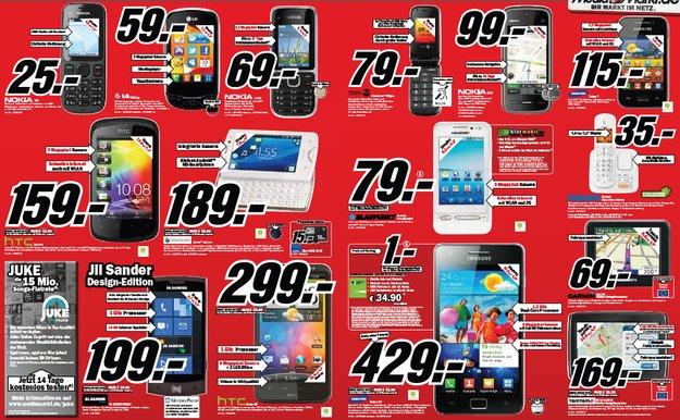 Prospekt-Check: Media Markt Android-Smartphone – KW05