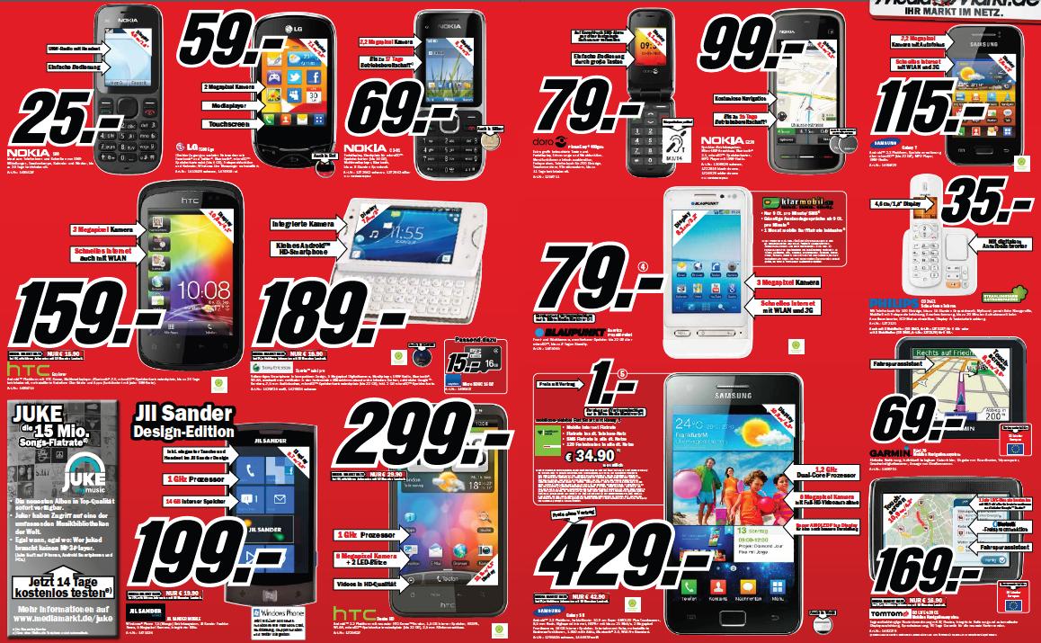 Prospekt Check Media Markt Android Smartphone Kw05 Giga