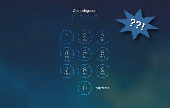 IPHONE X ENTSPERREN CODE