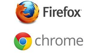 Google Chrome kommt Firefox in Europa immer näher