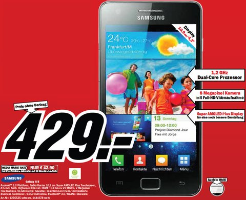 Samsung Galaxy S2 Media Markt