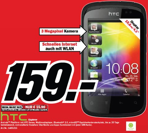 HTC Explorer Media Markt