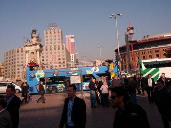 MWC 2012 - Google Bus