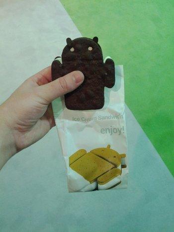 MWC 2012 - Google Ice Cream Sandwich