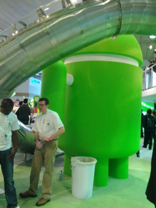 MWC 2012 - Google Android