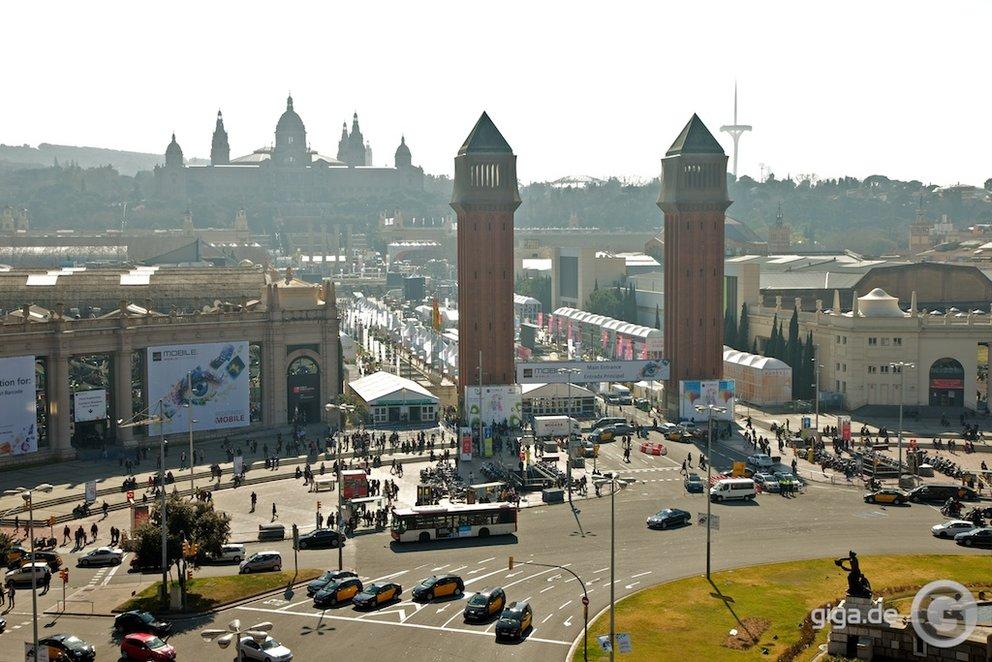 Der MWC in Barcelona - Tag 1