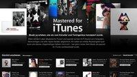 Mastered for iTunes: U2, Madonna, McCartney und Co auch für Match-Nutzer