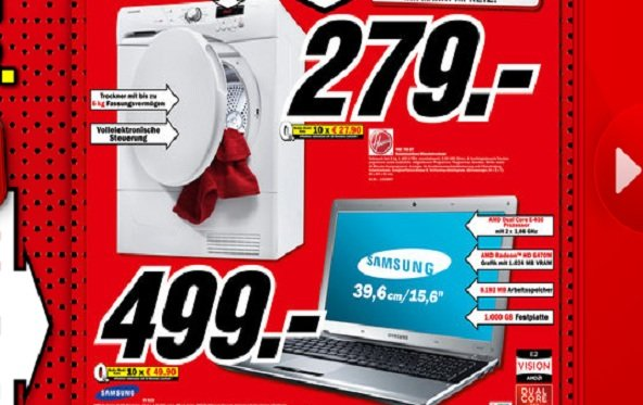 Prospekt-Check: Media Markt Notebooks & Zubehör - KW09