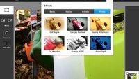 Photoshop Touch verbessert Bildauflösung