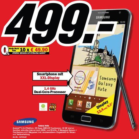 Samsung Galaxy Note Media Markt