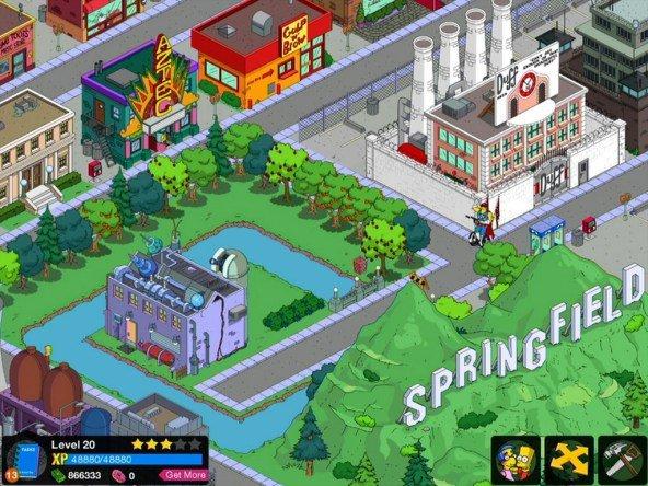 Die Simpsons Springfield nicht mehr im App Store