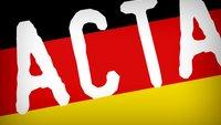 ACTA-Abkommen: Deutschland macht Rückzieher