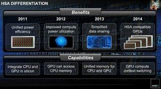 """AMD: """"Fusion"""" von CPU und GPU bis 2014"""