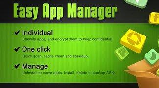 Easy App Manager - Hilfreiches Tool zum Verwalten eurer Apps
