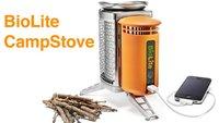 BioLite CampStove: iPhone mit Feuer aufladen