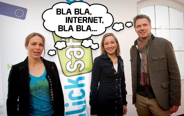 Safer Internet Day - Wie uns auf einer langweiligen Veranstaltung sehr langweilig wurde