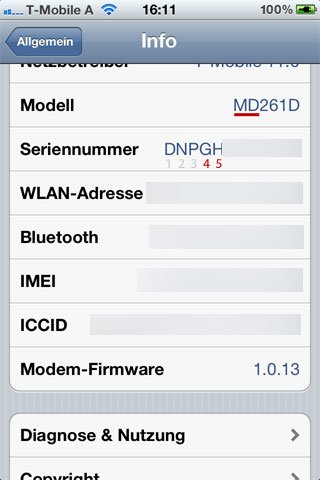 iPhone 3GS Bootrom herausfinden