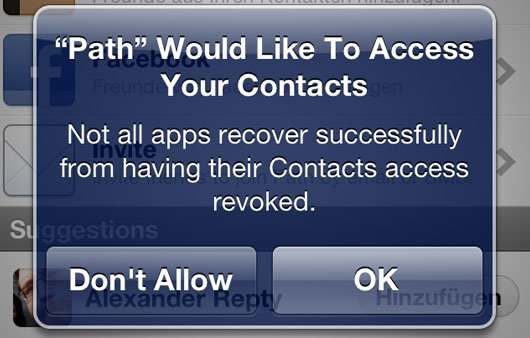Contact Privacy
