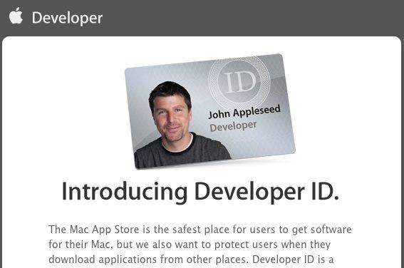"""Gatekeeper: Entwickler können sich """"Developer ID"""" bei Apple besorgen"""
