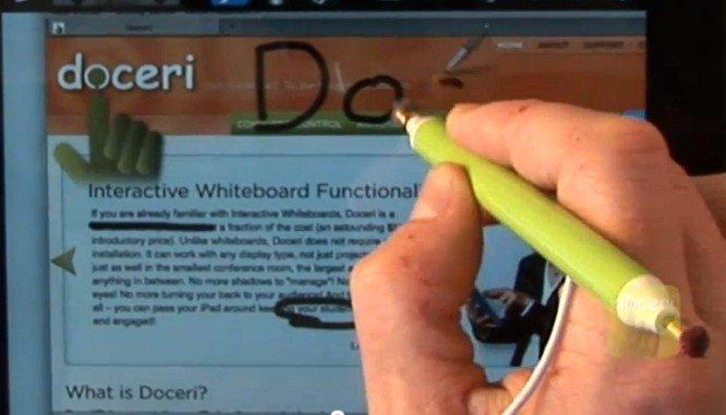 Doceri: iPad-gesteuerte Präsentationen auf Mac und PC