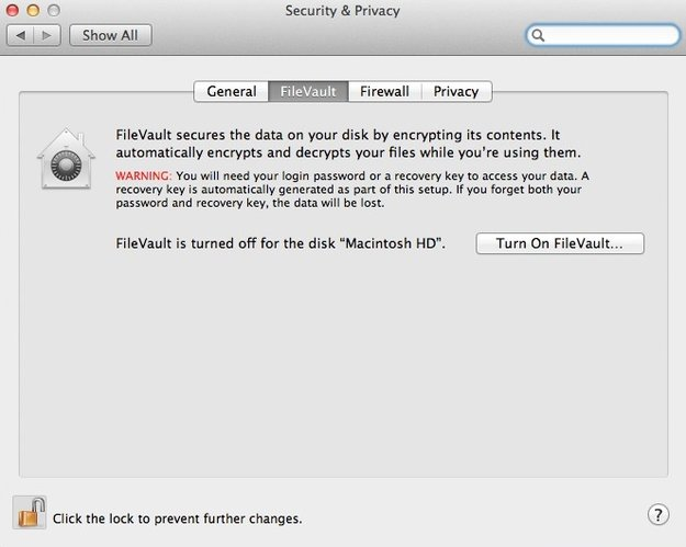 FileVault 2: Verschlüsselung lässt sich angeblich binnen 40 Minuten knacken