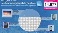 Großes Apple-Gewinnspiel der Telekom: Gewinne ein MacBook Air, ein iPad 2 und mehr