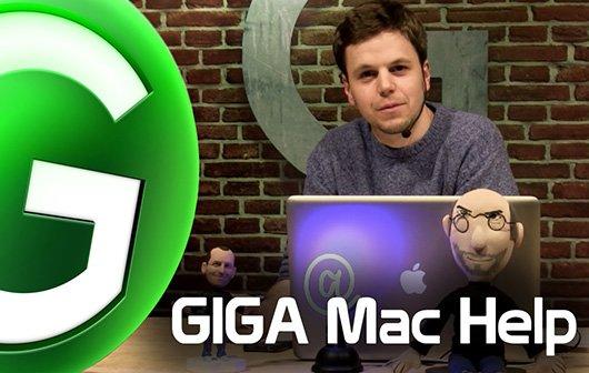 GIGA Mac Help – Folge 3: Mehr Stromspartipps, mehr Power, weniger Versionen