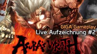 GIGA Gameplay LIVE - Asura's Wrath - Aufzeichnung Part 2