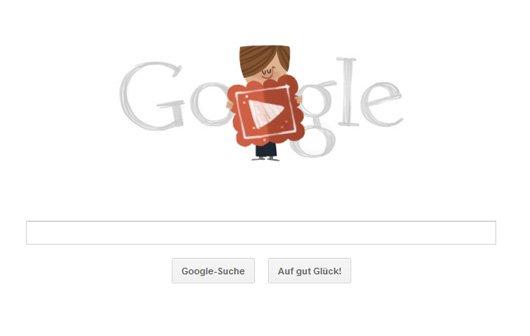 Google Doodle gratuliert zum Valentinstag mit einem Film