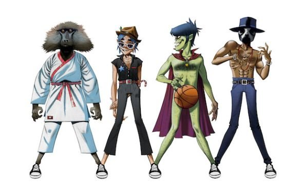 "Gorillaz, James Murphy and Andre 3000: ""DoYaThing"" (Video)"