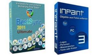 InPaint 3.0 und BestSync 2012 Express Vollversionen gratis