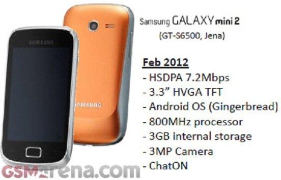 Samsung Galaxy Mini 2 erscheint womöglich noch im Februar