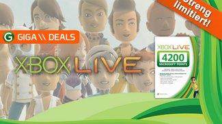 Xbox Live Points (4200) für 31,99 statt 50 Euro (Update)