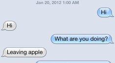 Apple: Es gibt keinen iMessage-Fehler